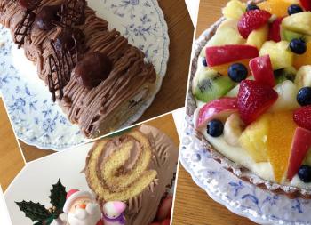 写真:お菓子作り